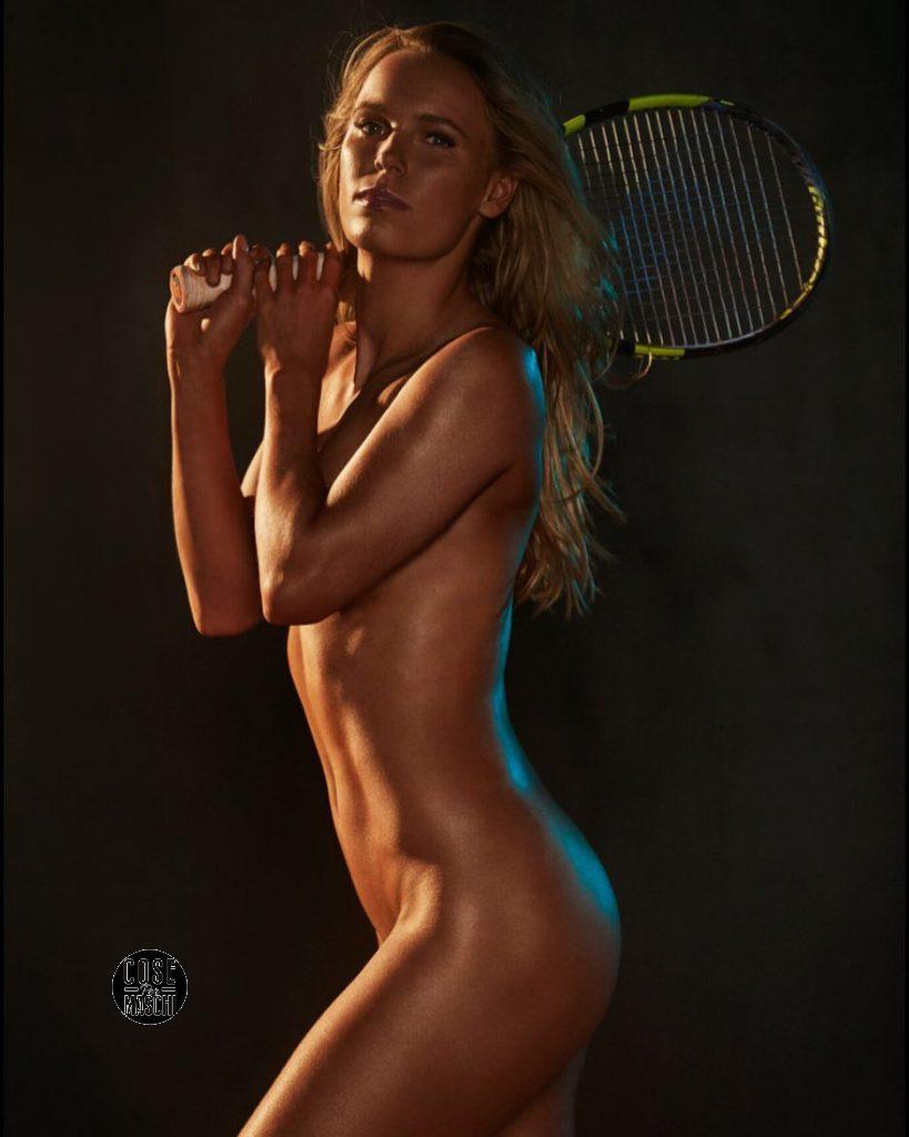 Caroline Wozniacki nuda
