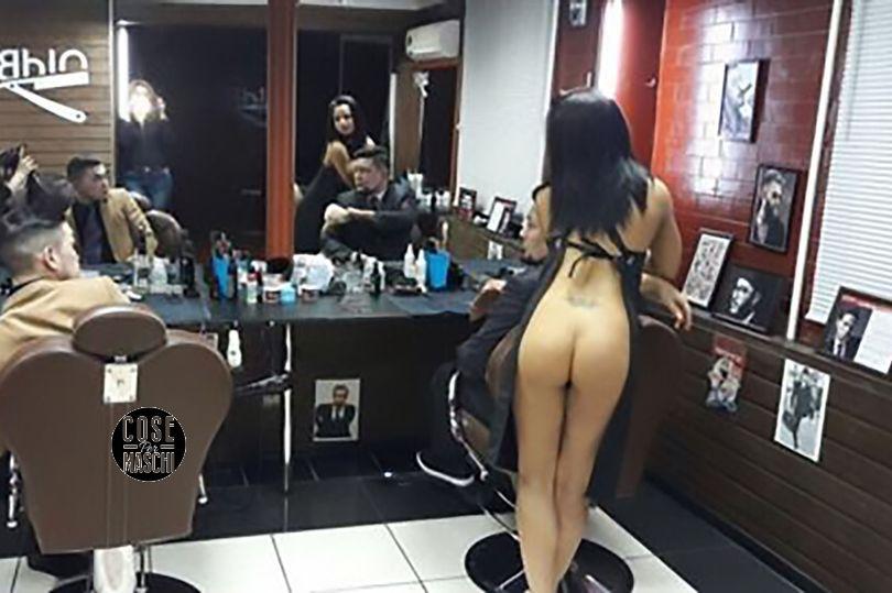 parrucchiere tagliano nude