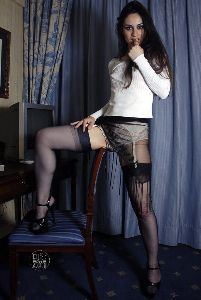 collant sexy neri